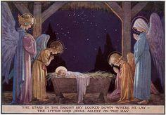 Angels Animals Baby Animals Christmas Illustrator: Margaret Tarrant'