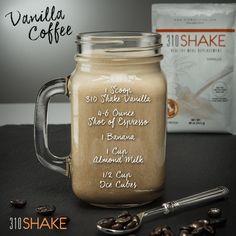 212 Calories - Vanilla Coffee