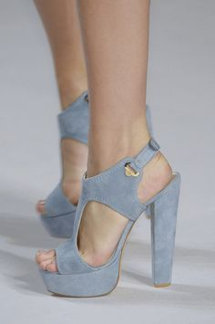 powder blue platform sandals