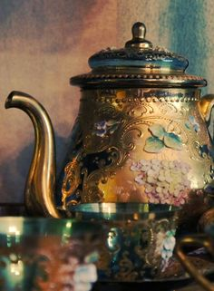 vintage tea service
