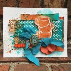 TGIF!  I'm sharing a second card today featuring this awesome stamp set by STAMPlorations.  They have a cool freebie image HERE  if you'r...