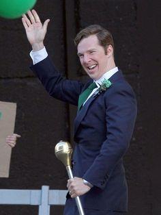Benedict Cumberbatch - Benedict Cumberbatch on the 'Black Mass' Set