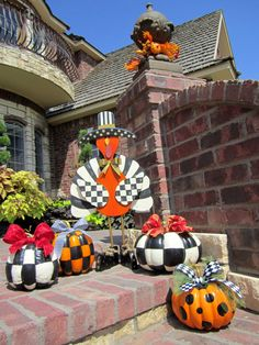 Items similar to Fall Thanksgiving Hand Painted Turkey Black White Check on Etsy Thanksgiving Blessings, Thanksgiving Crafts, Thanksgiving Decorations, Fall Crafts, Holiday Crafts, Halloween Decorations, Seasonal Decor, Holiday Ideas, Holidays Halloween