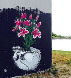 by Don John in Copenhagen, 2015 (LP) Wall Street, Street Art, Don John, Graffiti, Urban Art, Rue, Traditional Art, Copenhagen, Spicy