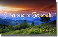 Living Forever praising our Great & Wonderful God, Jehovah!