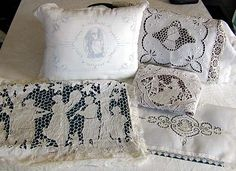 Image detail for -all about antique linens from Cynthia