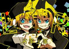 Len Y Rin, Kagamine Rin And Len, Vocaloid, Kaito, Electric Angel, Mikuo, Mirror Image, Stuffing, Fangirl