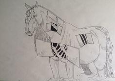 open horse