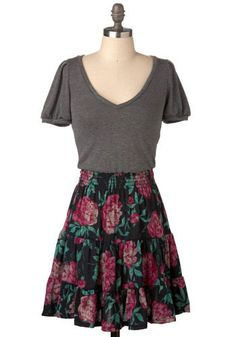 Adorable outfit! it would be even cuter with a rosey colored shirt or a green!