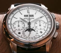 Patek Philippe 5270 Perpetual Calendar Chronograph Watches Hands-On
