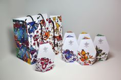 Упаковка чая colorful Carpathian #tea #packaging PD