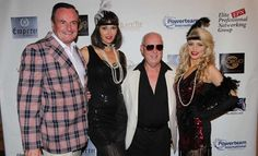 Gerard Mckeon Publisher Black Tie International Magazine, Angelina Shipilina, Terence Smith http://blacktiemagazine.com/society_october_2016/elite_professionals_halloween_celebration.htm