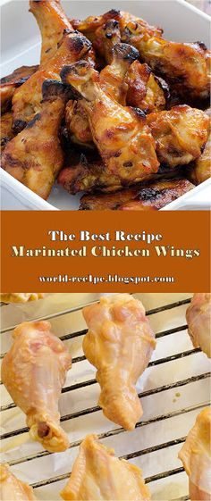 There's absolutely nothing rather as satisfying as pulling a complete dinner out of the oven in just one pot. For this recipe, you can include the vegetables that you 'd like and definitely change the flavorings on the chicken. Chicken Wing Marinade, Marinated Chicken Wings, Marinated Chicken Recipes, Grilled Chicken Wings, Chicken Recipes For Kids, Chicken Wing Recipes, Healthy Chicken Recipes, Whole Food Recipes, Cooking Recipes