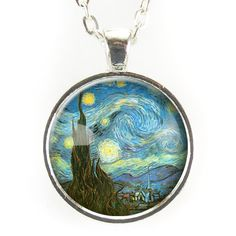 The Starry Night Necklace, Vincent van Gogh
