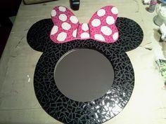 Cre A rtE: Espejo de Minnie en mosaiquismo