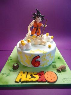 SonGoku - by Diletta Contaldo @ CakesDecor.com - cake decorating website