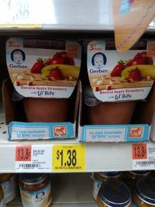 Gerber Lil Bits 2 Count Packs only $.88 at Walmart! - http://wp.me/p56Eop-FOT