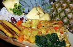 Jamaican Pineapple Curry