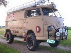 Type 2 with syncro 4x4 running gear.