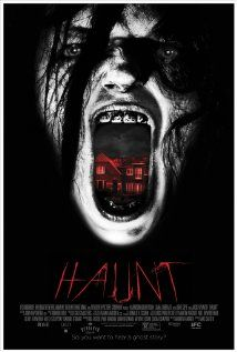 Haunt (2013) 86 min  -  Horror | Mystery An introvert teen befriends his new neighbor, and together the couple begin to explore the haunted house that his family has just purchased.  Director: Mac Carter Writer: Andrew Barrer Stars: Jacki Weaver, Liana Liberato, Harrison Gilbertson