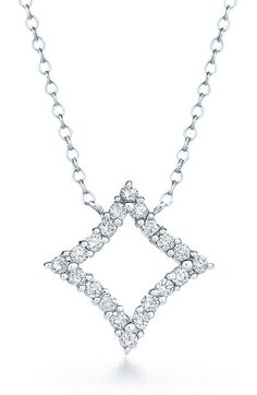 Kwiat 'Evergreen' Diamond & White Gold Pendant Necklace available at #Nordstrom