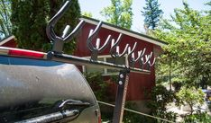Shopping for a hitch rack: The Northshore Rack : Bermstyle Hitch Rack, Bike Rack, North Shore, Mtb, More Fun, Chevy, Outdoor Living, Garage, Drinks