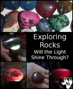 Exploring Rocks: Will the Light Shine Through - 3Dinosaurs.com
