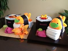 ~Sushi diaper cakes~ in Fort Campbell