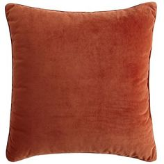 Color I want to over my armchair in. Oversize Plush Pillow - Clay