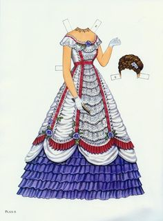 Godey's Fashion Paper Dolls 1860-1879 (Ming-Ju Sun) - Nena bonecas de papel - Picasa 웹앨범