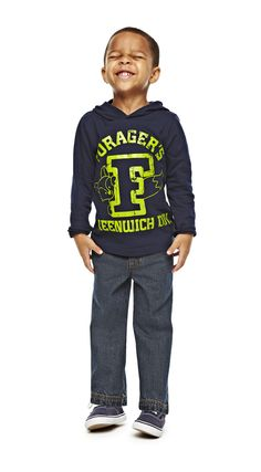 smile! – okie dokie kids hoodie tee and jeans
