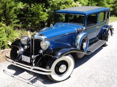 1931 Chrysler Imperial CG Long Wheel Base Sedan