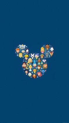 Disney Characters Wallpaper