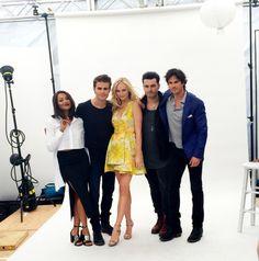 The Vampire Diaries Comic-Con 2015 Paul Wesley Vampire Diaries, Vampire Diaries Stefan, Vampire Diaries The Originals, Vampire Diaries Season 7, Vampire Diaries Cast, Caroline Forbes, Stefan Salvatore, Katherine Pierce, Elite Model