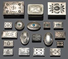 NAVAJO BOXES: A collection of Navajo boxes