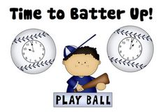 FREE Spring Math Center - Time to Batter Up! - Go to http://pinterest.com/TheBestofTPT/ for this and thousands of free lessons.