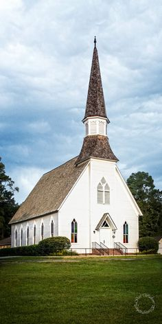 Country Church White Church 1st United by LifeCapturedByGail
