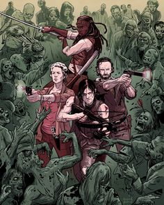 [FAN ART] TWD by David M. Buisán