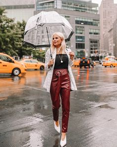 Breaking down all of my outfits from NYFW with sizing and additional info! Trendy Outfits, Winter Outfits, Summer Outfits, Nyfw Style, New York Fashion, Winter Fashion, Street Style, Rain, Outfit Ideas
