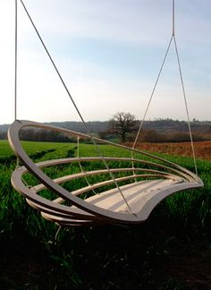 hanging chairs by raw studio are an excellent choice. Designed & crafted in the UK from FSC exterior grade birch ply, suitable for interior & exterior use. Each folds flat for easy storage