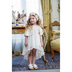 Βαπτιστικό Ρούχο Bambolino Girls Dresses, Flower Girl Dresses, Wedding Dresses, Fashion, Bridal Dresses, Moda, Dresses For Girls, Bridal Gowns, Wedding Dressses