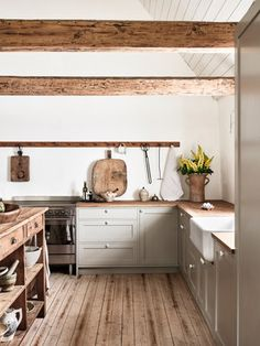 Move Over, Marble! Move Over, Marble! Kitchen Style, Kitchen Renovation, Rustic Kitchen, Kitchen Remodel, Home Kitchens, Nordic Kitchen, Wood Floor Kitchen, Kitchen Interior, Kitchen Inspirations
