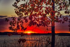 https://flic.kr/p/oVJsbt | Beautiful Autumn 160913 | The end of an autumn day over York Lake, Saskatchewan.  Website: www.ianmcgregorphotography.com Facebook: www.facebook.com/IanMcGregorPhotography  Thanks for your very kind comments!