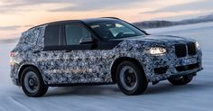 BMW Officially Begins 2018 X3 Countdown With Release Of Prototype Pictures And Video #BMW #BMW_Scoops