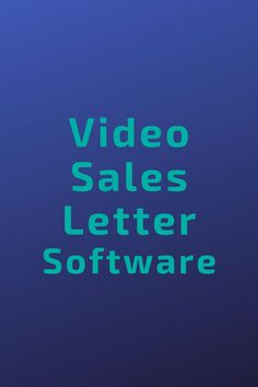 Create Amazing Sales Letter Videos > up to Faster! Sales Letter, Software, The Creator, Tech Companies, Letters, App, Marketing, Logos, Create