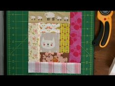 Log Cabin Quilt Squares with Scraps | National Quilters Circle - YouTube