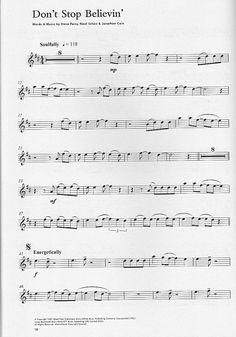Alto Saxophone Sheet Music For Popular Songs | CD+sheet+music for saxophone Glee Cast, Journey, Lady Gaga, Madonna ...