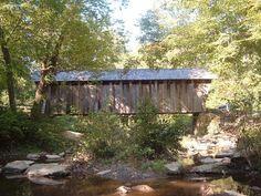 Pisgah Covered Bridge, Asheboro, North Carolina