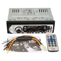 Car Auto Stereo Audio In-Dash Aux Input Receiver SD USB MP3 FM Radio Player Sale - Banggood.com
