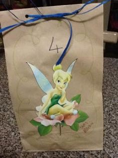 Tinkerbell party bag - handed out at school